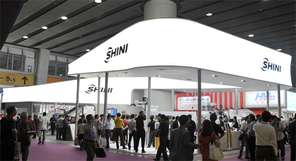 New brand image shines at CHINAPLAS 2013