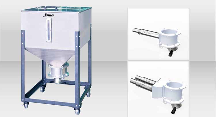 Material storage tank & Suction box